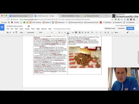 How To Format Google Document As Magazine Style Article