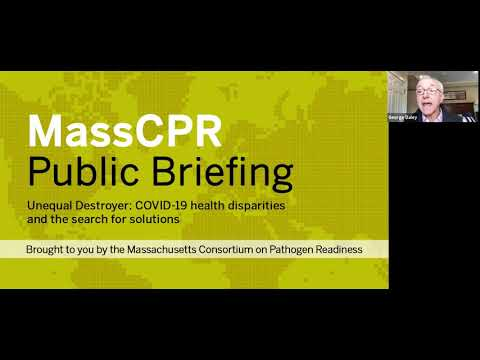 September 23, 2020 MassCPR Public Briefing on YouTube