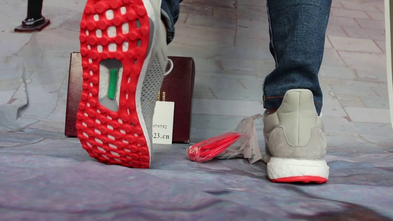 84e8e63be732 Solebox x adidas Ultra Boost Uncaged On Foot Show - YouTube