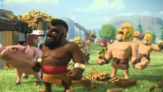 Clash of Clans movie Animation ||commercial||Hog Riders