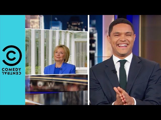 Hillary Clinton Calls Out Donald Trump | The Daily Show With Trevor Noah