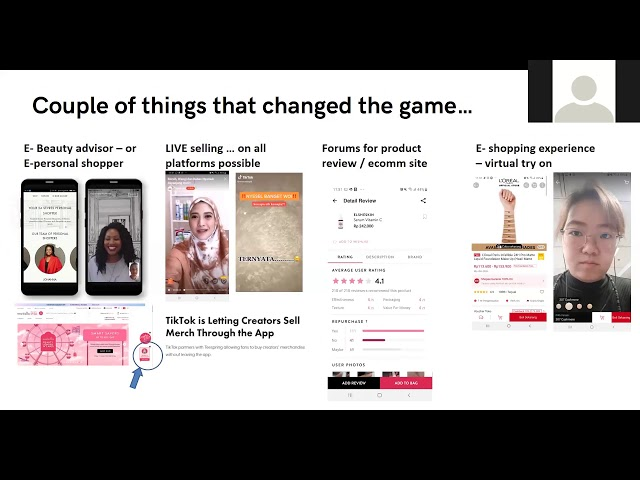 Evolution of research through Data and Analytics You change or you die Loreal