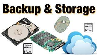 Photo Storage & Backup - DO IT RIGHT!