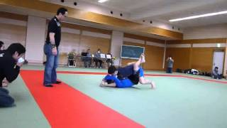倉永さんグラップリング準決勝。
