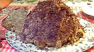 видео Торт муравейник из печенья