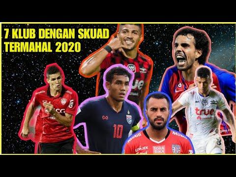 7 KLUB Dengan Skuad Termahal Di Asia Tenggara Tahun 2020,salah Satunya Bali United