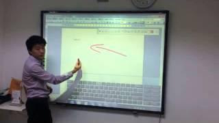 Interactive whiteboard TRACEBoard