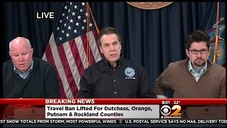 Gov. Andrew Cuomo Gives Winter Storm Update