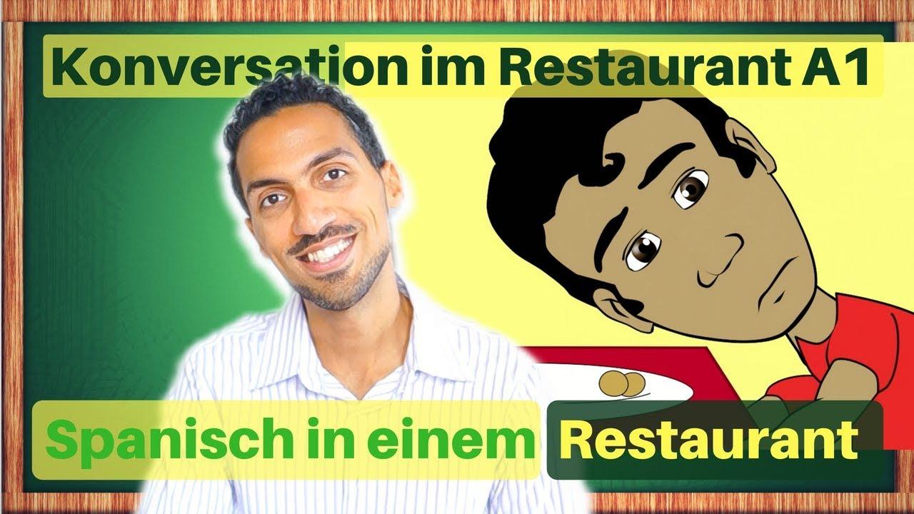 spanische vokabeln in einem restaurant spanisch h ren konversation a1 f r anf nger youtube. Black Bedroom Furniture Sets. Home Design Ideas