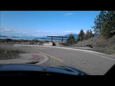 Salt Lake City to Calgary Time lapse Road Trip