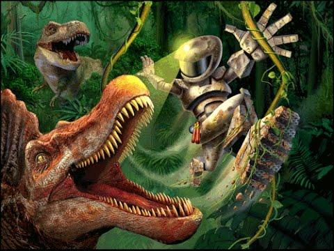 Jurassic park iii dino defender parte 1 2 youtube - Dinosaure de jurassic park ...