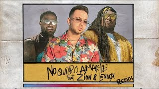 Belly - No Quiero Amarte - Remix (Justin Quiles ft. Zion & Lennox)