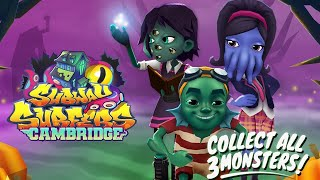 Subway Surfers World Tourn Chilling Cambridge - New Update Halloween Creepy Forest