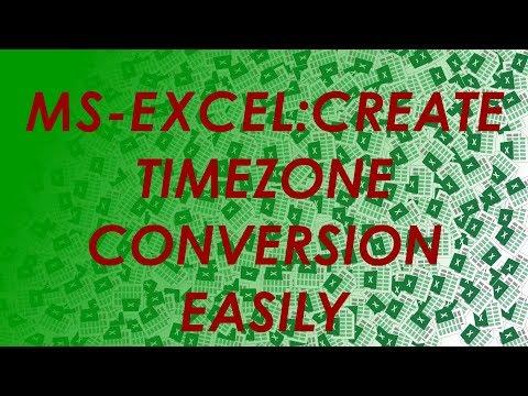 Resolved Avaya to VBA - Timezone excel, vba, avaya, excel