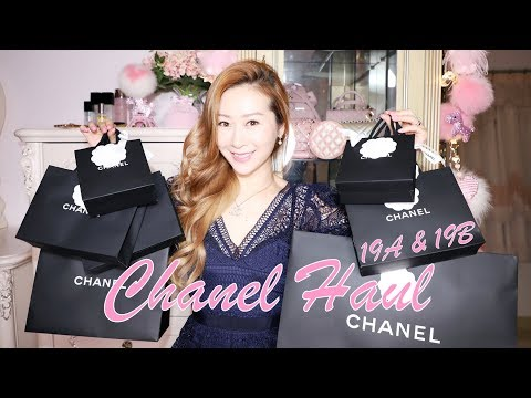 chanel-19a-&-19b-haul-unboxings-🤩-fall/winter-2019---no-pink??-😱-but-so-many-pearls-❤️-lindiess