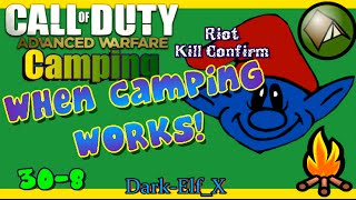 Advanced Warfare Camping - When Camping Works! ( Riot Kill Confirm )