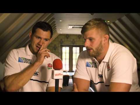 RWC Player Diary: Alex Goode and George Kruis