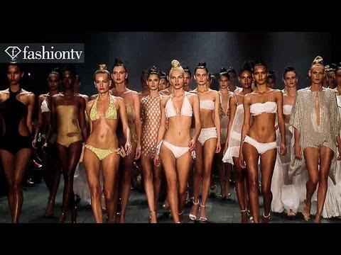 Swimwear by Adriana Degreas at Sao Paulo Fashion Week Spring 2013 - Part 1 | FashionTV