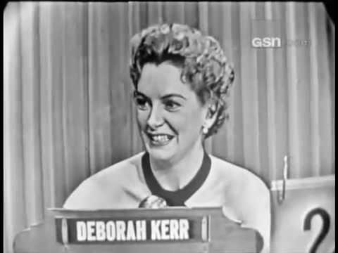 What's My Line?  Deborah Kerr Aug 9, 1953 UPGRADE!