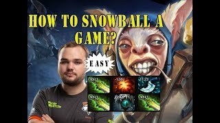 Noone Pro Meepo 9kmmr - How to snowball a game?