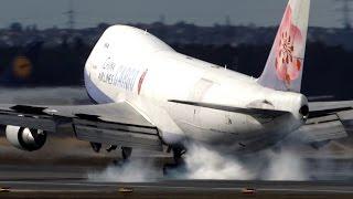 25 Heavy LANDINGS at Frankfurt - Boeing 747, Boeing 787 ...