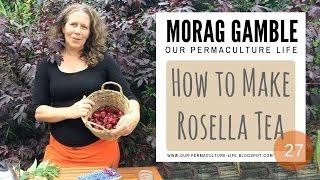 How to make Rosella Tea