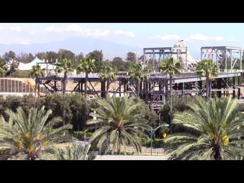 Disneyland - 4/18/17 Star Wars Land Construction Update