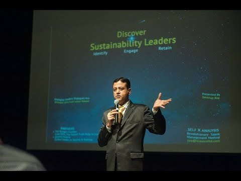 SXA Founder speaking at The Emerging Leaders Dialogue, Kuala Lumpur 20 Oct 2016