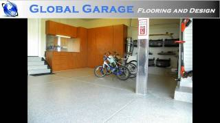 Garage Floors And Cabinets Installed By Global Garage Flooring And Design Of Denver