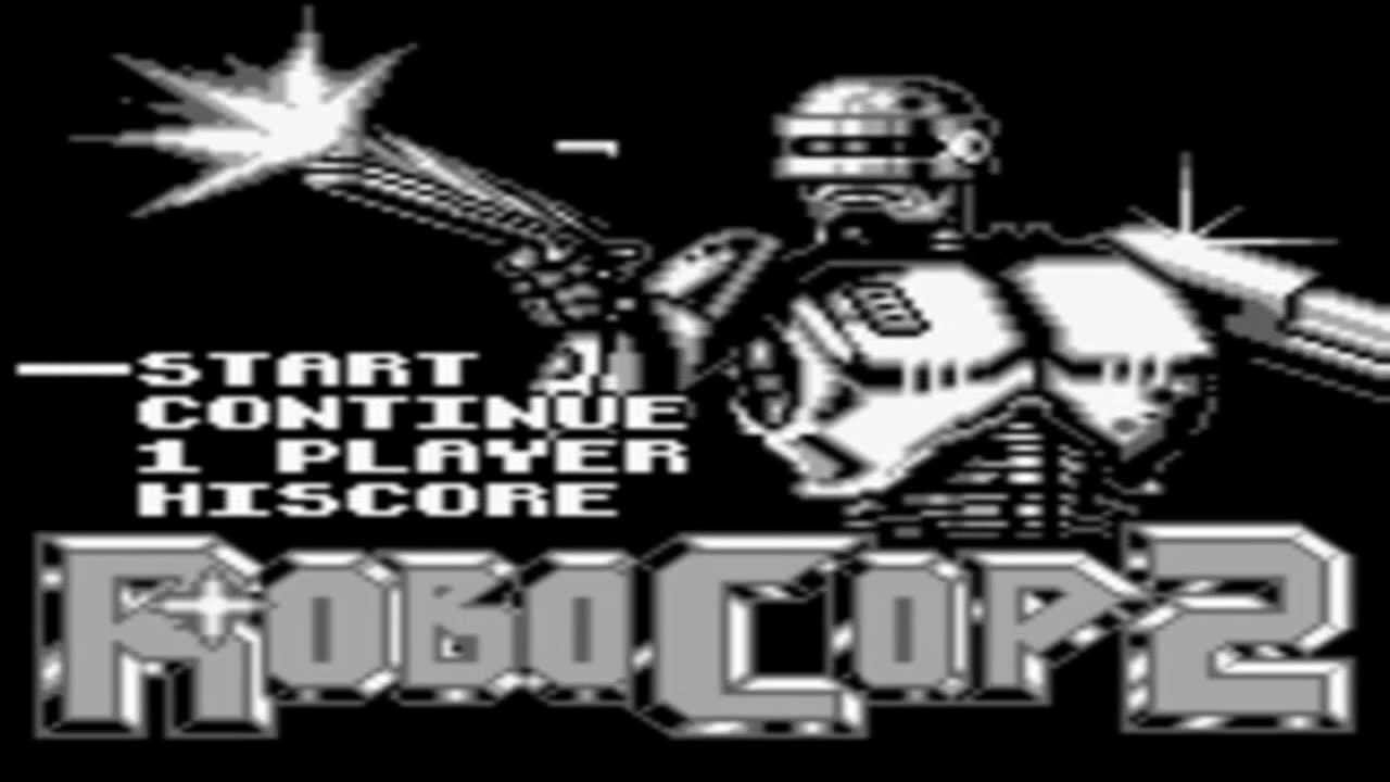 RoboCop 2 Completed No Miss Game Boy
