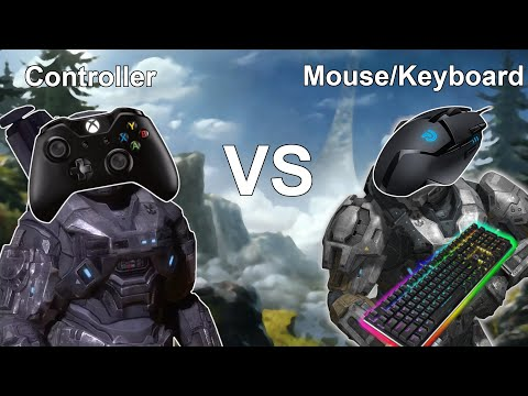 Halo Reach PC | Controller vs Mouse and Keyboard | 1v1 Highlights