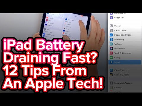 Battery Tips For iPad Battery Draining Fast Problem