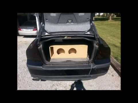 """2 American Bass VFL 8"""" Subs...roof And Windshield Flex!!!"""