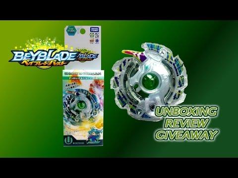 Beyblade Burst ベイブレードバーストB-56 Unlock Unicorn .D.N Review Giveaway Exp Sep 5th