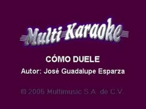 karaoke como duele,liberacion