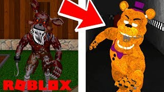 NEW FNAF GAME AND NIGHTMARE ANIMATRONICS ?! | Roblox Afton's Family Diner