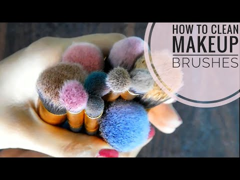 How To: Clean Makeup Brushes | Easiest & Cheapest Way || TipsToTop By Shalini
