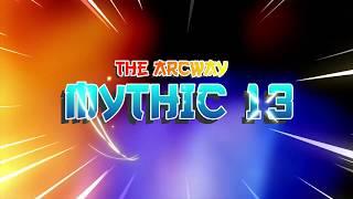 World Of Warcraft 🔥  Affliction Warlock 🔥Mythic Plus + 13 The Archway 🔥 (Legion FireStorm 7.3.5)