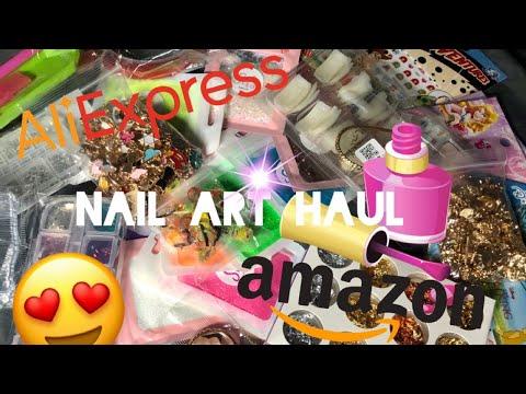 ALIEXPRESS NAIL ART HAUL | AMAZON NAIL HAUL | NAIL ART  | CHEAP NAIL SUPPLIES | NAIL SUPPLY HAIL