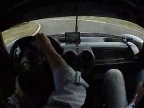 ***Ferrari FXX Supercar on racetrack and driven hard!!***