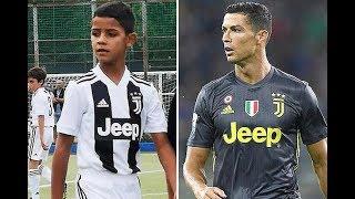 Tài năng Cristiano Ronaldo Jr - tương lai sẽ thay ông bố CR7