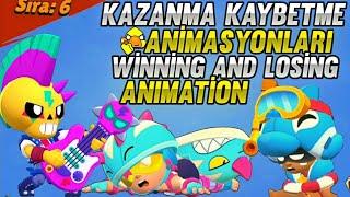 Yeni Kostümlerin Kazanma ve Kaybetme Animasyonları - Brawl Stars