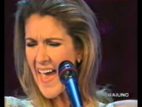 Céline Dion - The Reason ( Rai Uno )