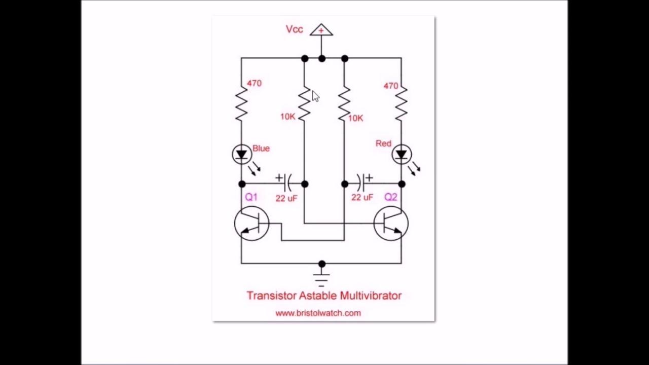 Blinker Schematic Diagram