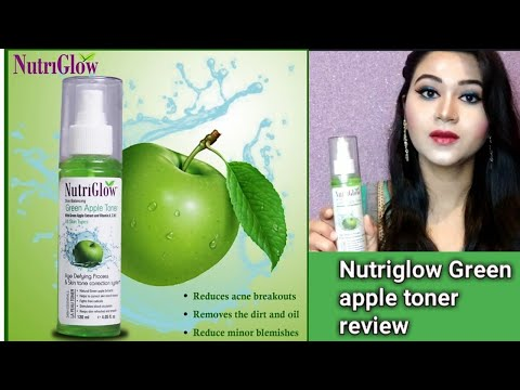 Nutriglow Green Apple Toner honest Review/ Is it good for skin? uses and benefits