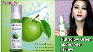 Nutriglow Green Apple Toner Honest Review Is It Good For Skin Uses And Benefits