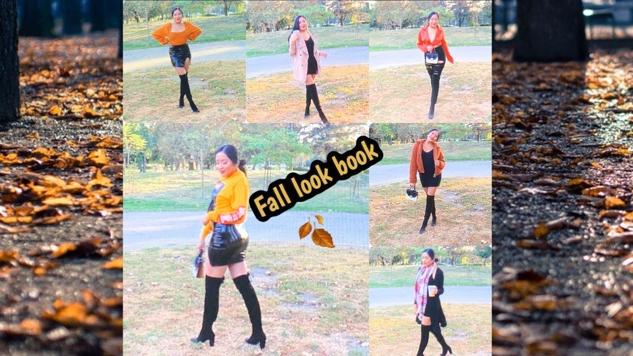 [VIDEO] - FALL LOOKBOOK 2019 /7 OUTFITS 8