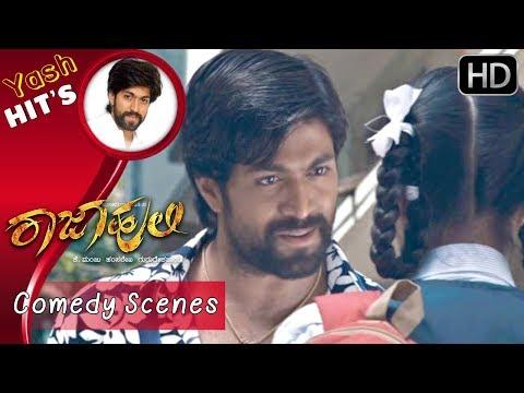Yash Comedy Scenes - Yash tells chikkanna...