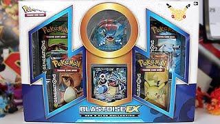 Opening A Pokemon Red & Blue Blastoise EX Box!!!
