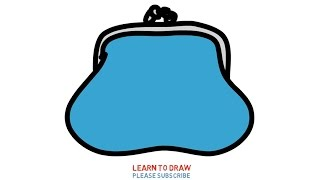 Easy Step For Kids How To Draw a Coin Pouch